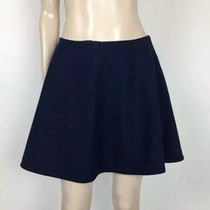 Kate Spade Saturday Navy Flare A-Line Circle Skirt
